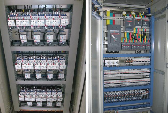 tủ điện thang máy